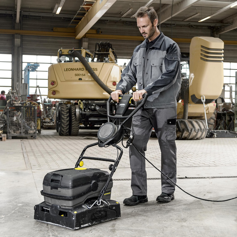 Floor Scrubbers & Polishers
