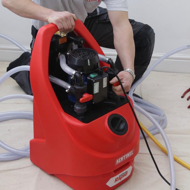 Central Heating Flusher