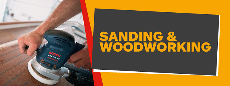 Sanding and Woodworking
