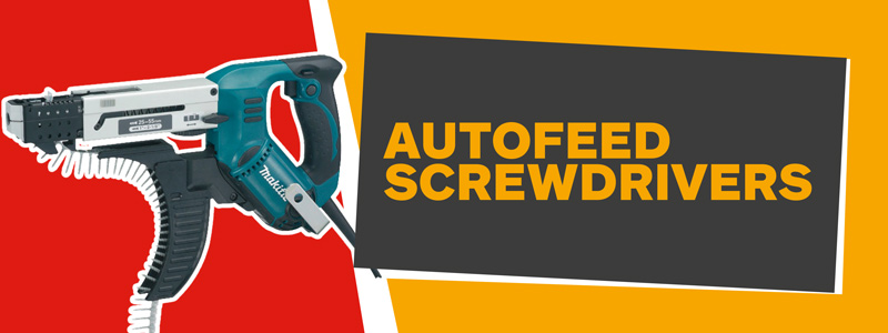 Autofeed Screwdrivers