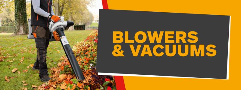 Blowers & Vacuums