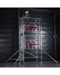Alloy Tower With AGR Frame Single