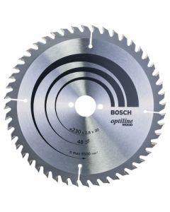Bosch Optiline Circular Saw Blade 230mm