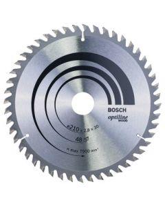 Bosch Optiline Circular Saw Blade 210mm