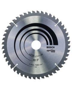 Bosch Optiline Circular Saw Blade 216mm